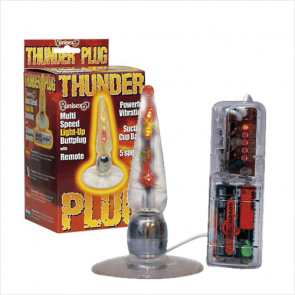 Thunder Light-Up Buttplug